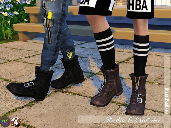 Short boots N3 at Studio K Creation image 1283 670x502 Sims 4 Updates