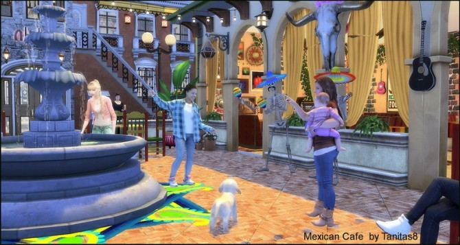 Mexican cafe and restaurant at Tanitas8 Sims image 1287 670x357 Sims 4 Updates