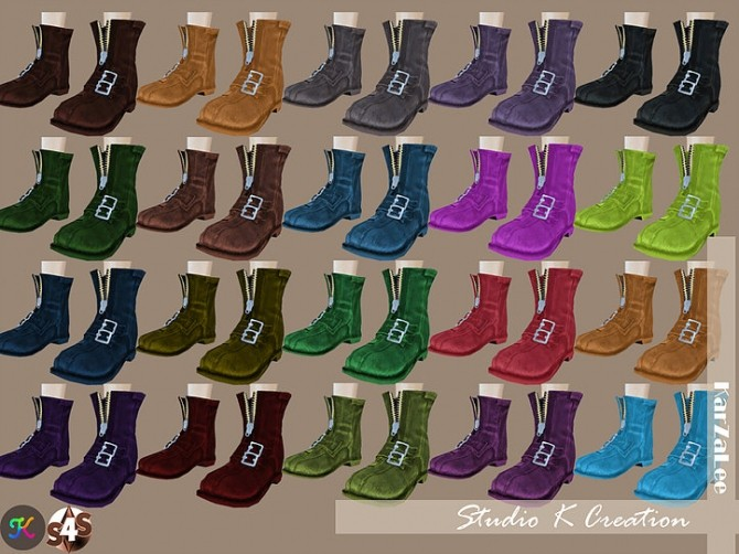 Short boots N3 at Studio K Creation image 1293 670x502 Sims 4 Updates