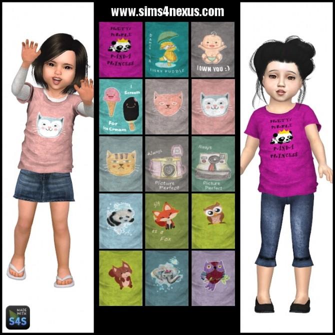 Plain Old Tees by SamanthaGump at Sims 4 Nexus image 1295 670x670 Sims 4 Updates