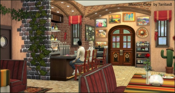 Mexican cafe and restaurant at Tanitas8 Sims image 1297 670x357 Sims 4 Updates