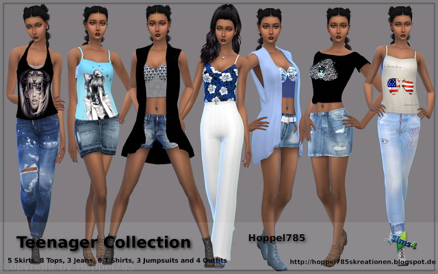 Teenager Collection at Hoppel785 image 13110 Sims 4 Updates