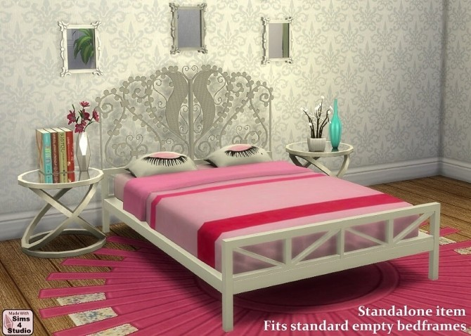 Chloe bedding by OM at Sims 4 Studio image 13114 670x478 Sims 4 Updates