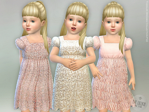 Sims 4 Toddler Dresses Collection P22 by lillka at TSR