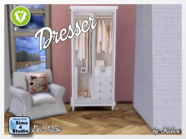Dresser Vintage by Oldbox at All 4 Sims image 13214 Sims 4 Updates