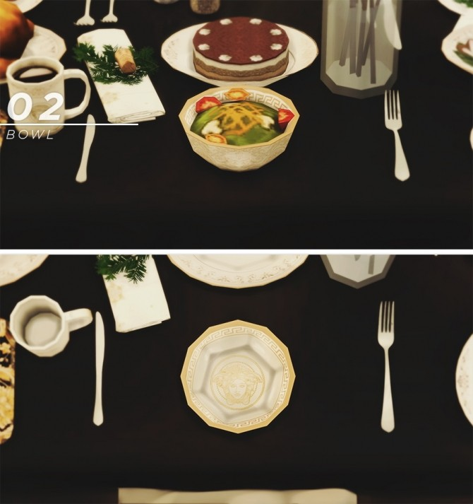 Default replacement dishware set at Asteria Sims image 133 670x713 Sims 4 Updates