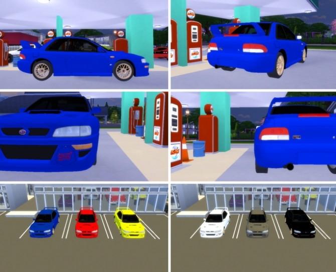 1998 Subaru Impreza 22b STi at TheGTRGuySims image 1335 670x541 Sims 4 Updates