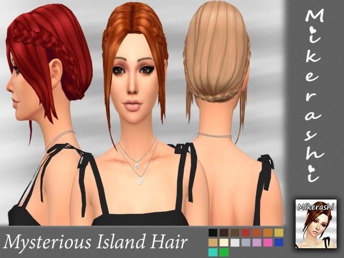 Mysterious Island Hair at Mikerashi image 1345 670x503 Sims 4 Updates
