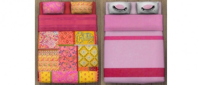 Chloe bedding by OM at Sims 4 Studio image 1348 670x287 Sims 4 Updates