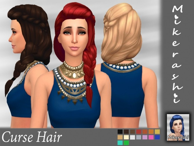 Curse Hair at Mikerashi image 1365 670x503 Sims 4 Updates