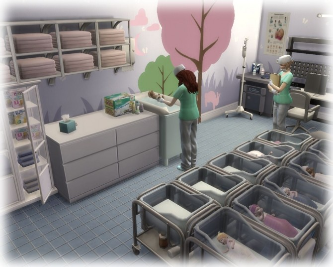 Central Clinic at Nagvalmi » Sims 4 Updates