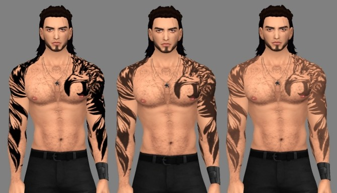 Gladios Tattoo by deathbyweske at SimsWorkshop image 14011 670x385 Sims 4 Updates