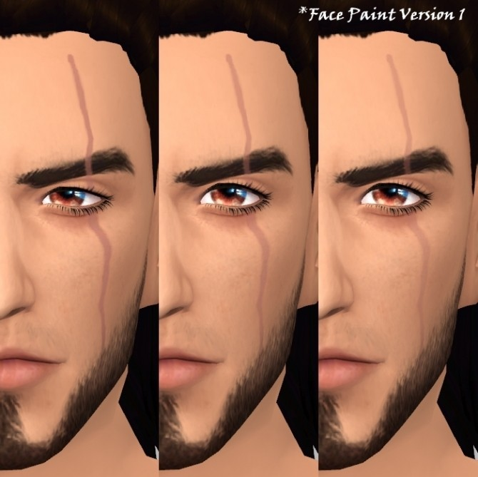 Gladio S Scar By Deathbywesker At Simsworkshop 187 Sims 4