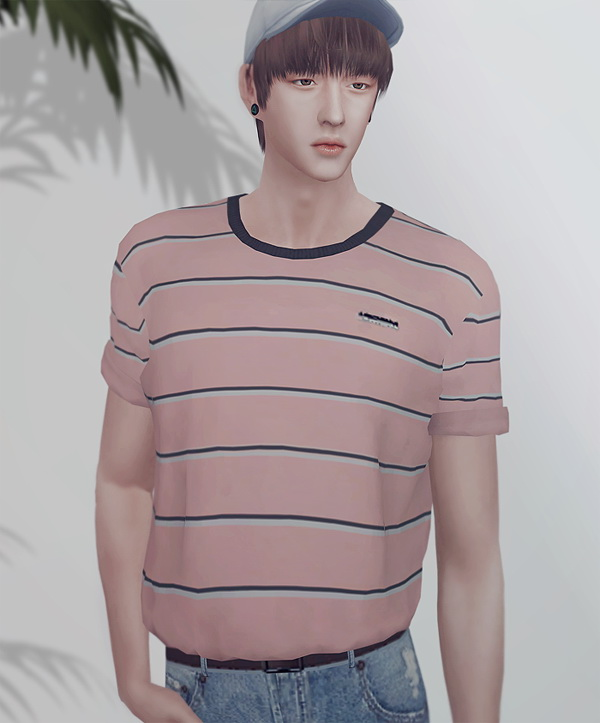 Roll up t shirts + fitted jeans at KK's Sims4 – ooobsooo image 1436 Sims 4 Updates