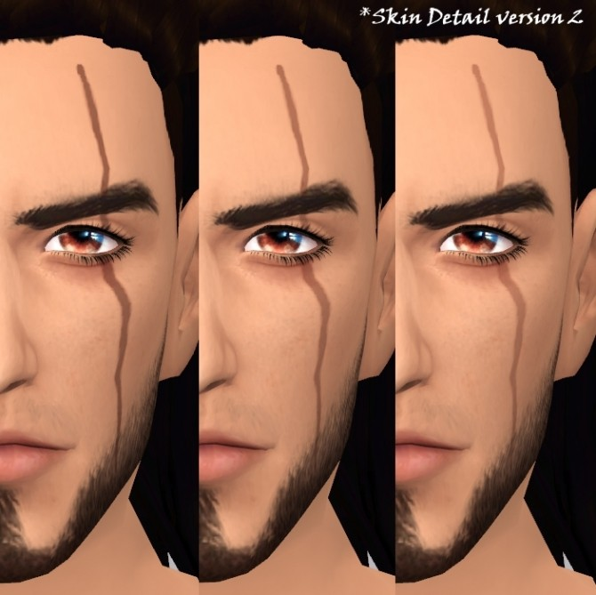 Sims 4 Gladios Scar by deathbywesker at SimsWorkshop