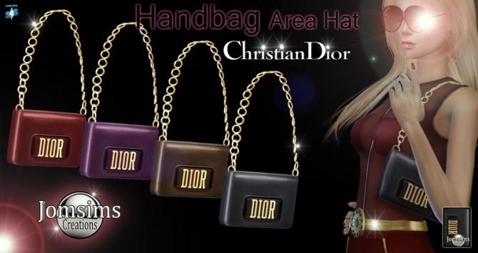 Handbag at Jomsims Creations image 1454 670x355 Sims 4 Updates