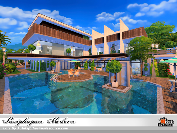 Sasiphapan Modern by autaki at TSR image 1470 Sims 4 Updates