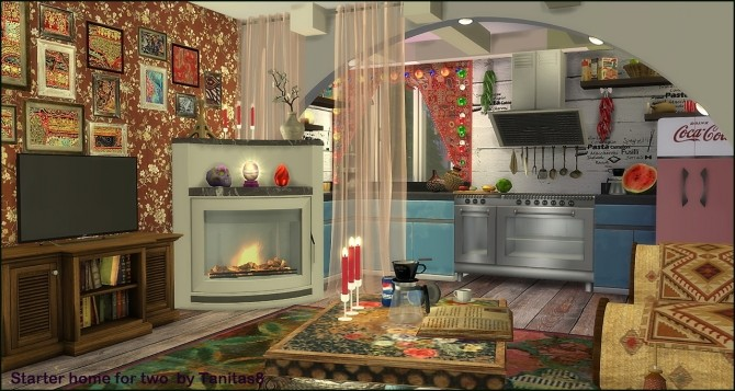 Boho starter home for two at Tanitas8 Sims image 14710 670x357 Sims 4 Updates