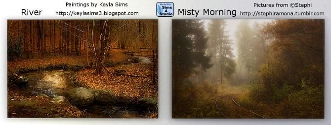 Sims 4 Paintings Stephi at Keyla Sims