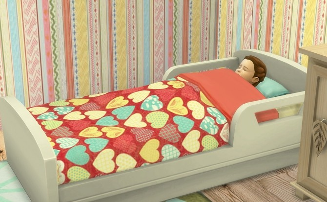 Toddlers Bed At OleSims Sims 4 Updates