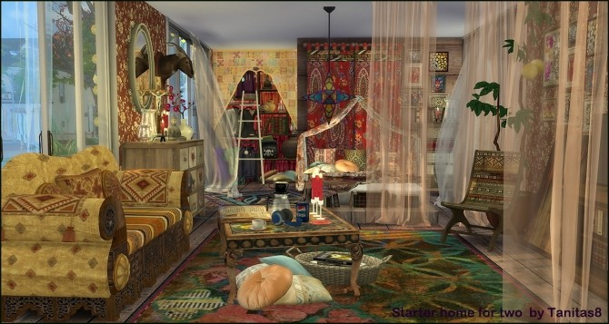 Boho Green Bedroom