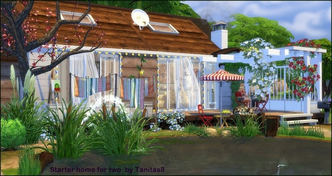 Boho starter home for two at Tanitas8 Sims image 15010 670x357 Sims 4 Updates