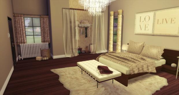Brown Bed & Bath at AymiasSims image 1505 Sims 4 Updates