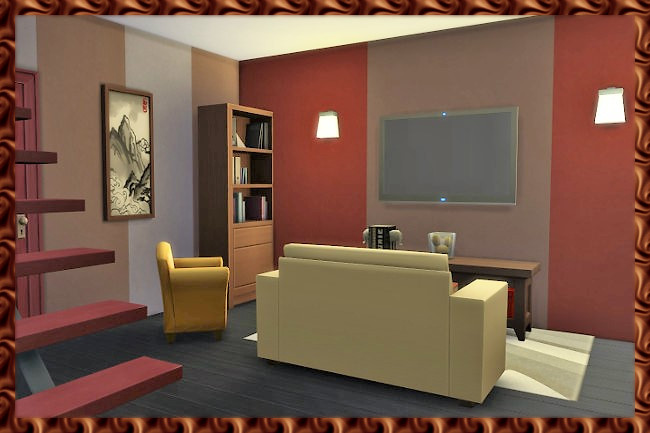 House 0815 by Kosmopolit at Blacky's Sims Zoo image 1506 Sims 4 Updates