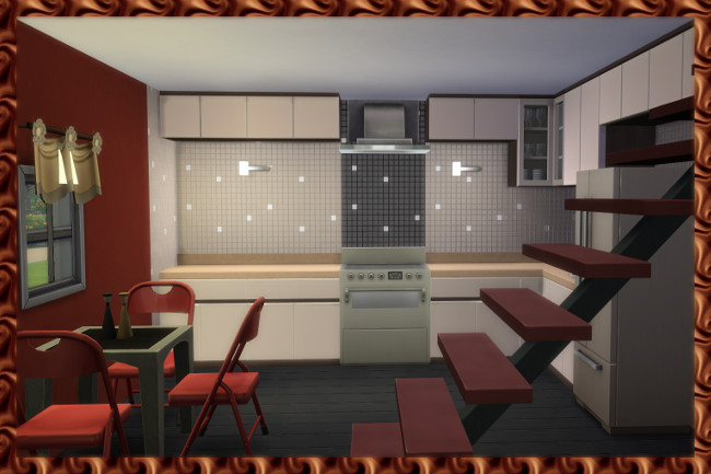 House 0815 by Kosmopolit at Blacky's Sims Zoo image 15110 Sims 4 Updates