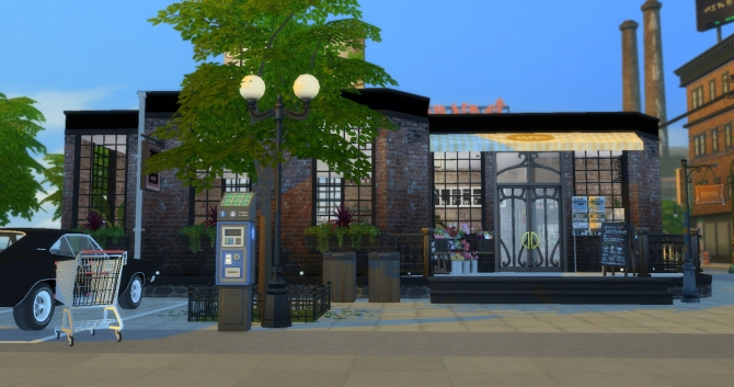 Grocery Store Mod Lot Tutorial At Lily Sims 187 Sims 4