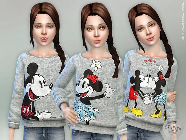 Sims 4 Sweatshirt by lillka at TSR