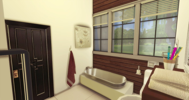 Brown Bed & Bath at AymiasSims image 1519 Sims 4 Updates