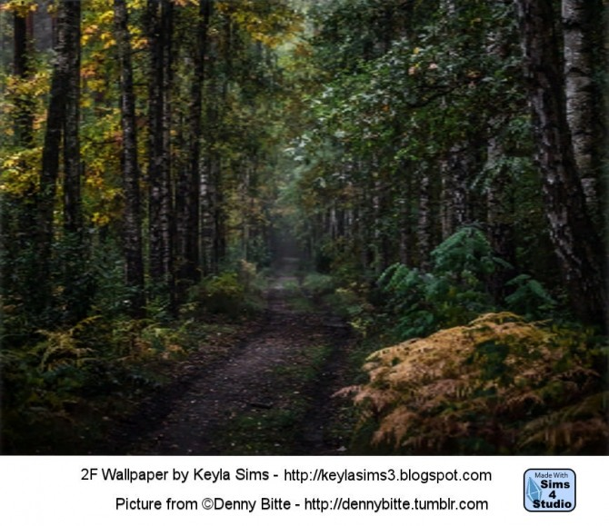 Forest Wallpapers at Keyla Sims image 1524 670x579 Sims 4 Updates