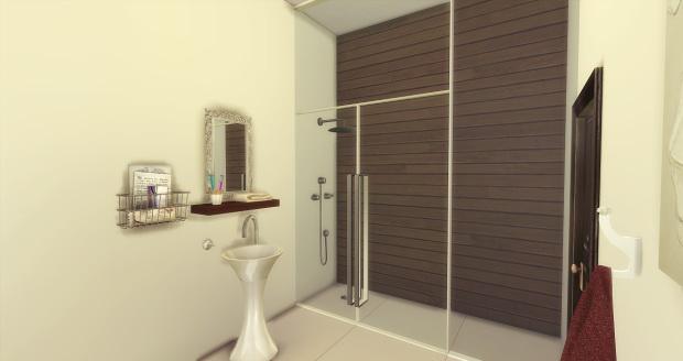 Brown Bed & Bath at AymiasSims image 1525 Sims 4 Updates