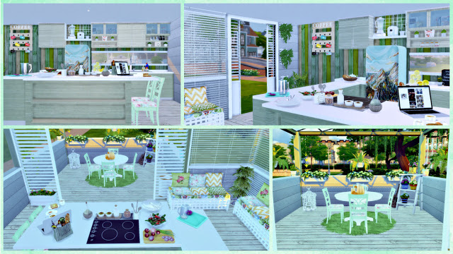 Eco Green Kitchen at Lily Sims image 15312 Sims 4 Updates