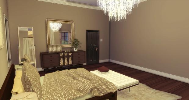 Brown Bed & Bath at AymiasSims image 1535 Sims 4 Updates