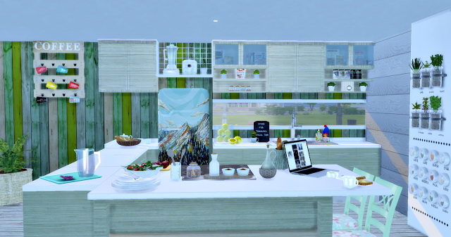 Eco Green Kitchen at Lily Sims image 15411 Sims 4 Updates
