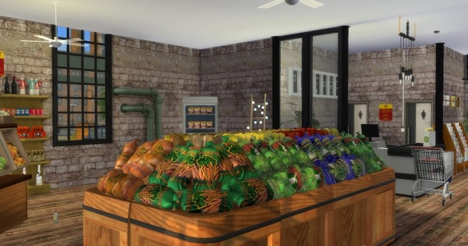 Grocery Store Mod Lot Tutorial At Lily Sims 187 Sims 4 Updates
