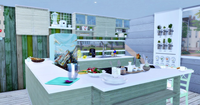 Eco Green Kitchen at Lily Sims image 15511 Sims 4 Updates