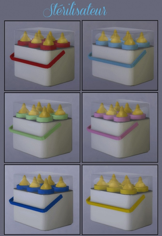 Food set for toodlers by maman gateau at sims artists for Plaque decorative cuisine
