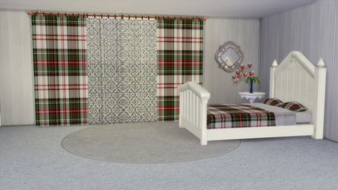 Sims 4 Classic curtains by Souris at Khany Sims