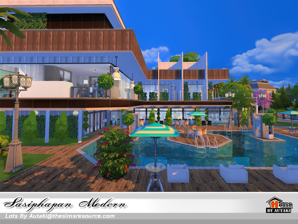Sasiphapan Modern by autaki at TSR image 1560 Sims 4 Updates