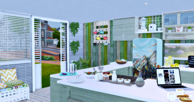 Eco Green Kitchen at Lily Sims image 15611 Sims 4 Updates