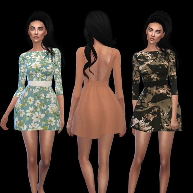 Voulez Vous Dress at Leo Sims image 1567 670x670 Sims 4 Updates