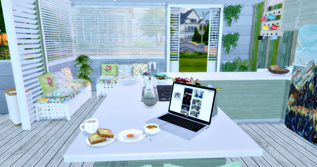 Eco Green Kitchen at Lily Sims image 1579 Sims 4 Updates