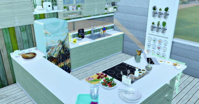 Eco Green Kitchen at Lily Sims image 15911 Sims 4 Updates