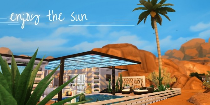 Palm Springs Bungalow by Waterwoman at Akisima image 16111 670x335 Sims 4 Updates