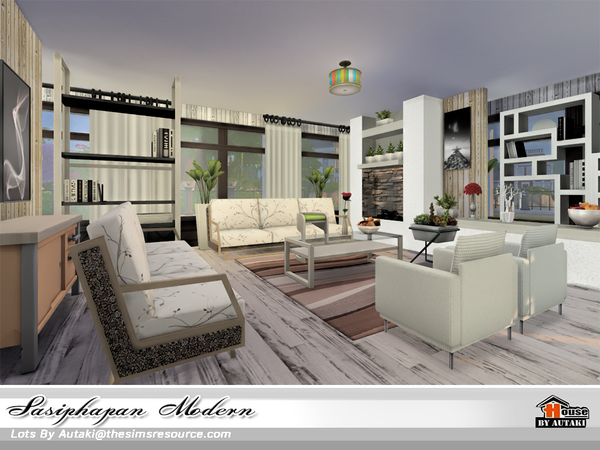 Sasiphapan Modern by autaki at TSR image 1648 Sims 4 Updates