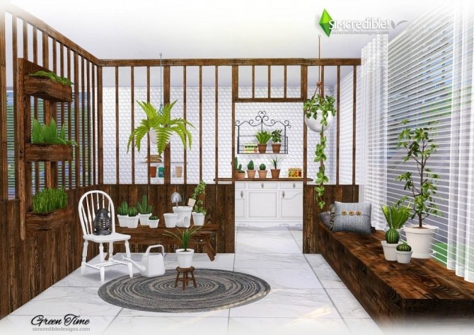 GreenTime set at SIMcredible! Designs 4 image 166 670x474 Sims 4 Updates