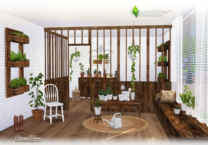 GreenTime set at SIMcredible! Designs 4 image 167 670x469 Sims 4 Updates